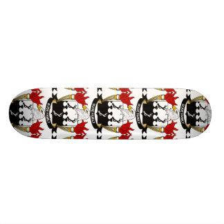 Bude Family Crest Skate Deck