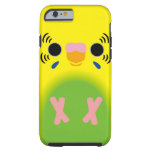 Budgerigar (Harlequin Lightgreen) Tough iPhone 6 Case