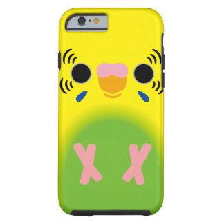 Budgerigar (Harlequin Lightgreen) Tough iPhone 6 Case