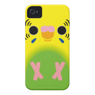 Budgerigar (Harlequin Lightgreen) Case-Mate iPhone 4 Cases