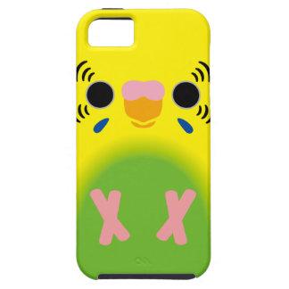 Budgerigar (Harlequin Lightgreen) iPhone 5 Cases