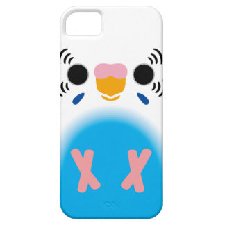 Budgerigar (Harlequin Skyblue) iPhone 5 Cover