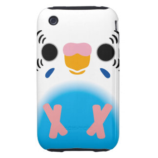 Budgerigar (Harlequin Skyblue) Tough iPhone 3 Cases