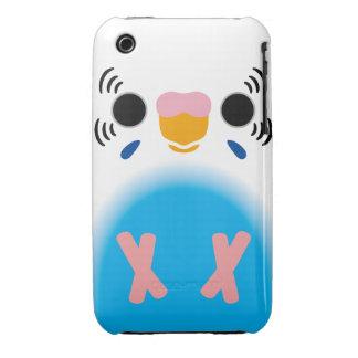 Budgerigar (Harlequin Skyblue) Case-Mate iPhone 3 Case
