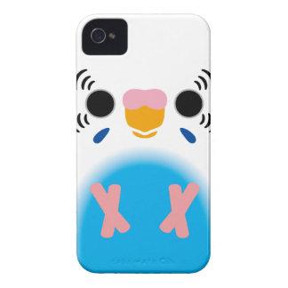 Budgerigar (Harlequin Skyblue) iPhone 4 Cases