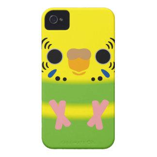 Budgerigar (Lightgreen pied Female) Case-Mate iPhone 4 Cases