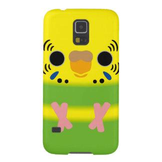 Budgerigar (Lightgreen pied Female) Galaxy S5 Case