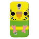 Budgerigar (Lightgreen pied Female) Galaxy S4 Cover