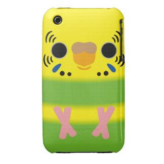 Budgerigar (Lightgreen pied Female) iPhone 3 Case-Mate Case