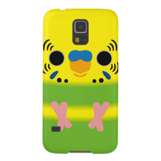 Budgerigar (Lightgreen pied Male) Galaxy S5 Case