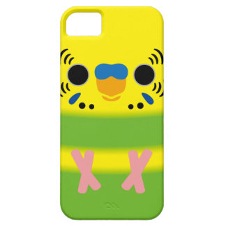 Budgerigar (Lightgreen pied Male) iPhone 5 Cover