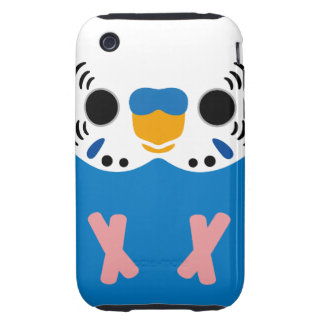 Budgerigar (Normal Cobalt Male) iPhone 3 Tough Covers