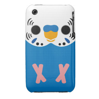 Budgerigar (Normal Cobalt Male) iPhone 3 Covers