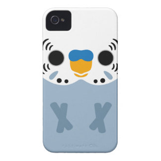 Budgerigar (Normal Grey Male) iPhone 4 Cases