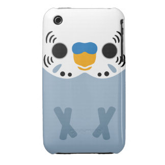 Budgerigar (Normal Grey Male) iPhone 3 Case