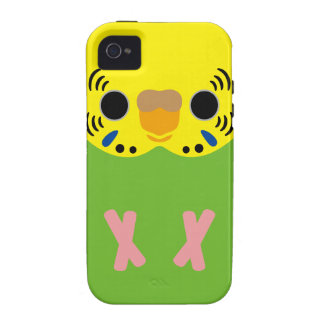Budgerigar (Normal Lightgreen Female) Case For The iPhone 4