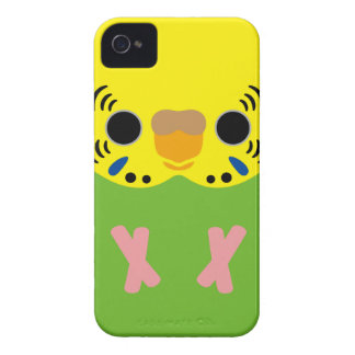 Budgerigar (Normal Lightgreen Female) iPhone 4 Covers