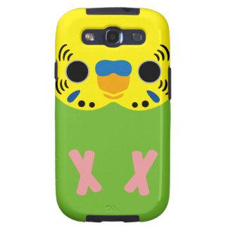 Budgerigar (Normal Lightgreen Male) Samsung Galaxy SIII Cover