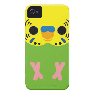 Budgerigar (Normal Lightgreen Male) iPhone 4 Cover