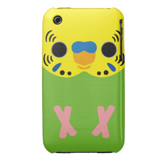 Budgerigar (Normal Lightgreen Male) iPhone 3 Case-Mate Case