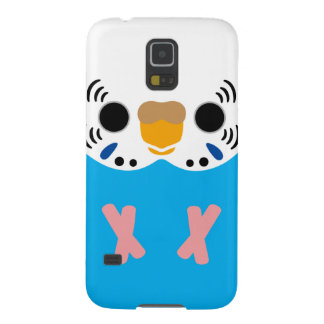 Budgerigar (Normal Skyblue Female) Galaxy S5 Cases