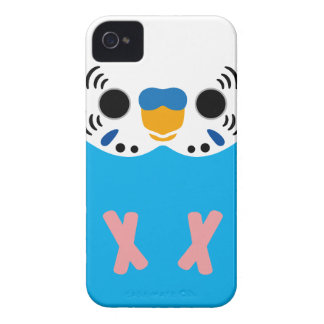 Budgerigar (Normal Skyblue Male) iPhone 4 Case-Mate Case