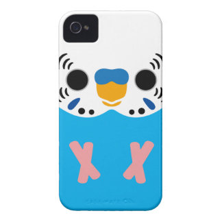 Budgerigar (Normal Skyblue Male) iPhone 4 Cover