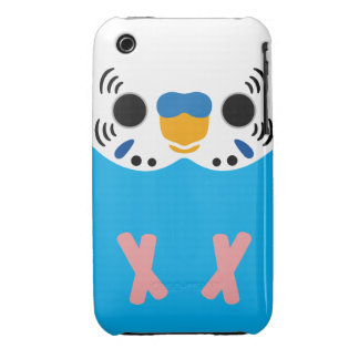 Budgerigar (Normal Skyblue Male) iPhone 3 Case-Mate Case