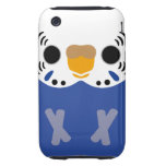 Budgerigar (Normal Violet Female) iPhone 3 Tough Cover