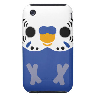 Budgerigar (Normal Violet Male) iPhone 3 Tough Cases