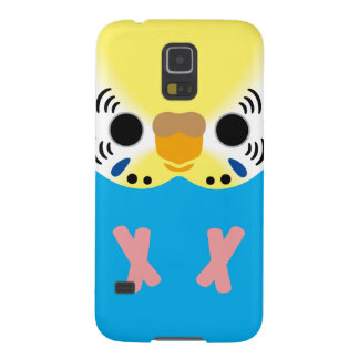 Budgerigar (Normal Yellowface1 Skyblue Female) Galaxy S5 Cases
