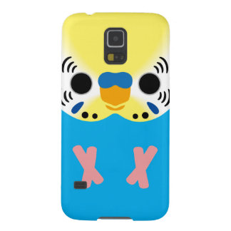 Budgerigar (Normal Yellowface1 Skyblue Male) Galaxy S5 Covers