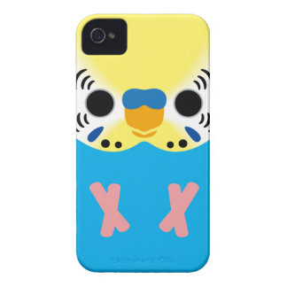 Budgerigar (Normal Yellowface1 Skyblue Male) Case-Mate iPhone 4 Cases