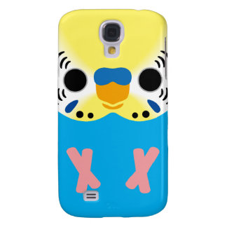 Budgerigar (Normal Yellowface1 Skyblue Male) Samsung Galaxy S4 Cover