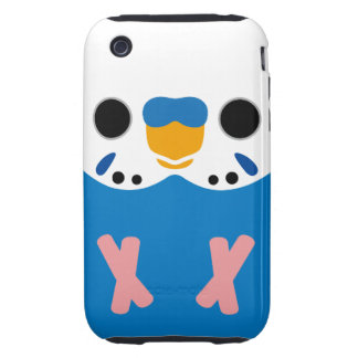 Budgerigar (Opaline Cobalt Male) Tough iPhone 3 Covers
