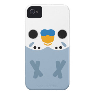 Budgerigar (Opaline Grey Male) iPhone 4 Covers