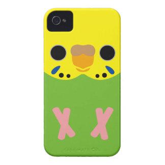 Budgerigar (Opaline Lightgreen Female) iPhone 4 Covers