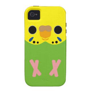 Budgerigar (Opaline Lightgreen Female) Vibe iPhone 4 Cover