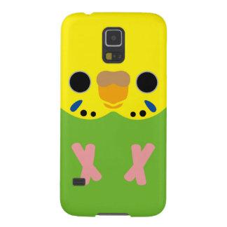 Budgerigar (Opaline Lightgreen Female) Galaxy S5 Cover