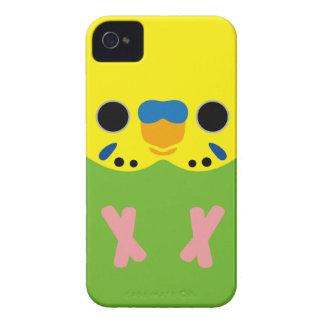 Budgerigar (Opaline Lightgreen Male) iPhone 4 Case-Mate Cases