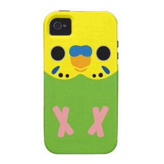 Budgerigar (Opaline Lightgreen Male) Case-Mate iPhone 4 Case