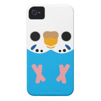 Budgerigar (Opaline Skyblue Female) Case-Mate iPhone 4 Case