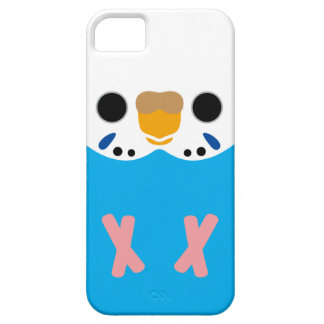 Budgerigar (Opaline Skyblue Female) iPhone 5 Case