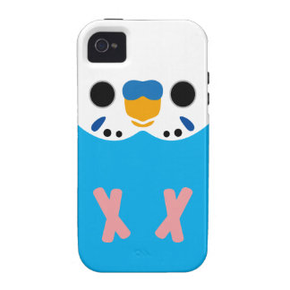 Budgerigar (Opaline Skyblue Male) iPhone 4 Covers