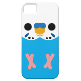 Budgerigar (Opaline Skyblue Male) iPhone SE/5/5s Case