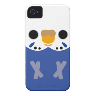 Budgerigar (Opaline Violet Female) iPhone 4 Case-Mate Case