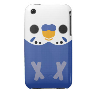 Budgerigar (Opaline Violet Male) iPhone 3 Covers