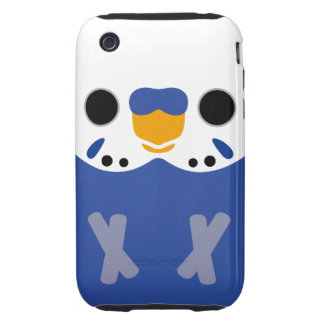 Budgerigar (Opaline Violet Male) iPhone 3 Tough Cover