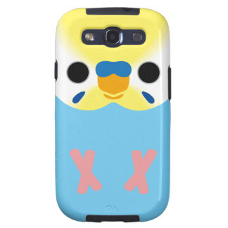 Budgerigar (Opaline Yellowface1 Greywing Skyblue M Galaxy S3 Covers
