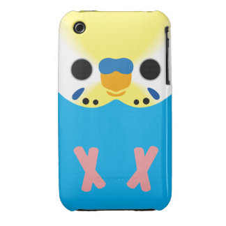 Budgerigar (Opaline Yellowface1 Skyblue Male) Case-Mate iPhone 3 Cases